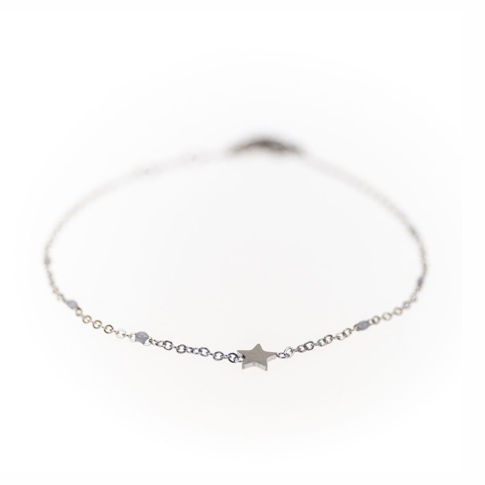 "Designsouvenir Armband ""Shine like a star"" in Silver"
