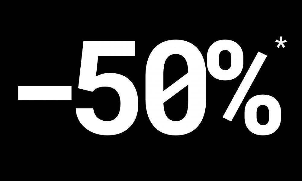 -50%*