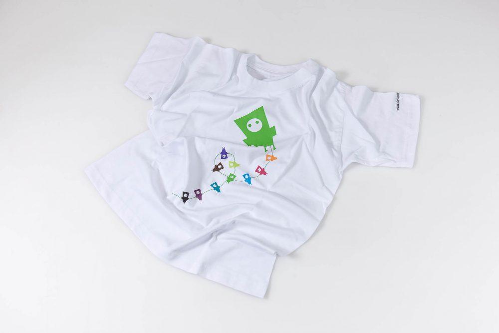 Designsouvenir T-Shirt Uhrturm für Kinder